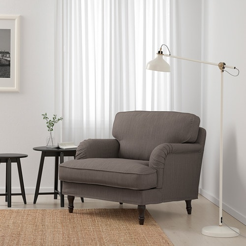STOCKSUND Armchair IKEA Extra wide and deep armchair with plenty of room for you to sit and relax comfortably.