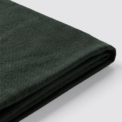 STOCKSUND Cover for bench, Nolhaga dark green