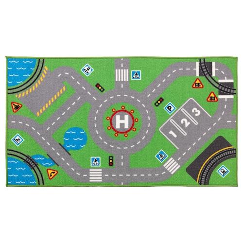 STORABO rug green 133 cm 75 cm 0.99 m²