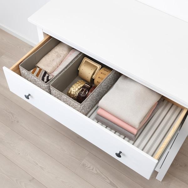 STORSTABBE box beige 20 cm 37 cm 15 cm 2 pack