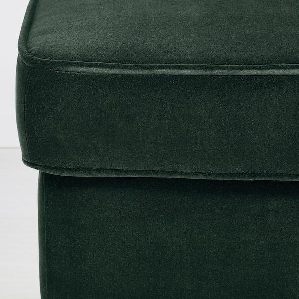 STRANDMON footstool Djuparp dark green 60 cm 40 cm 44 cm