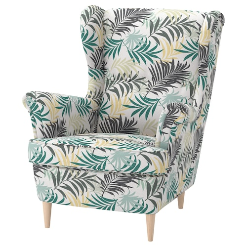 STRANDMON wing chair Gillhov multicolour 82 cm 96 cm 101 cm 49 cm 54 cm 45 cm