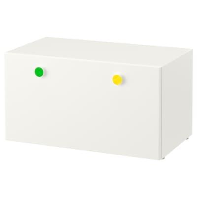 STUVA / FÖLJA Storage bench, white, 90x50x50 cm