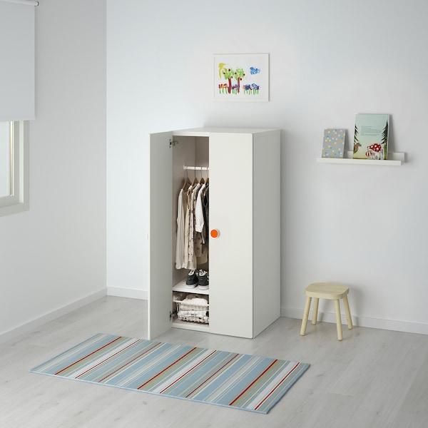 STUVA / FÖLJA wardrobe white 60 cm 50 cm 128 cm