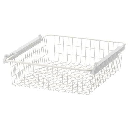 STUVA GRUNDLIG wire basket white 54 cm 60 cm 45 cm 13 cm 49 cm