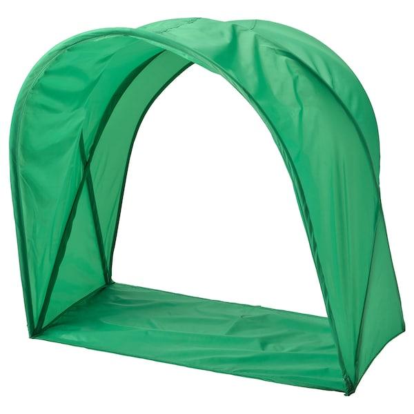 SUFFLETT bed tent green 80 cm