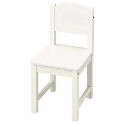 SUNDVIK Children's chair, white