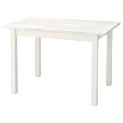 SUNDVIK Children's table, white, 76x50 cm