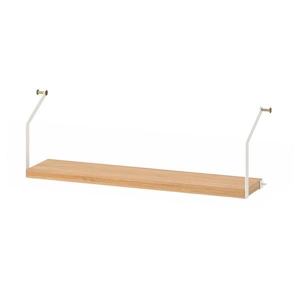 SVALNÄS Shelf, bamboo, 61x15 cm