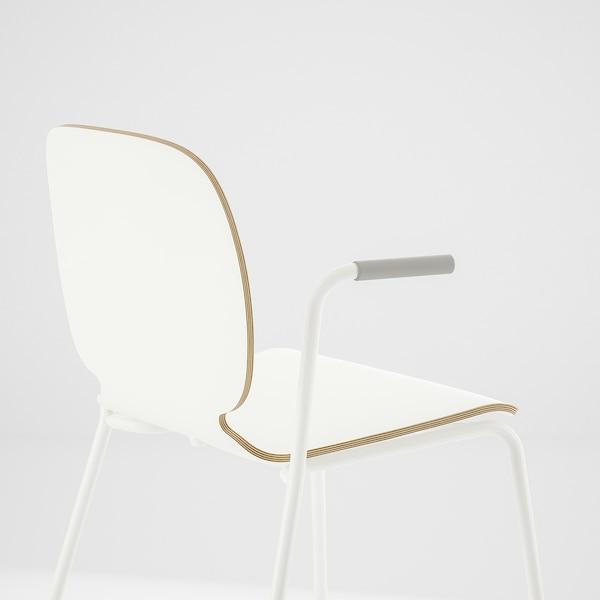 SVENBERTIL chair with armrests white/Dietmar white 110 kg 53 cm 50 cm 84 cm 45 cm 42 cm 46 cm