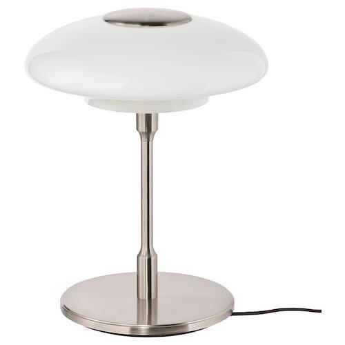TÄLLBYN table lamp nickel-plated/opal white glass 32 cm 40 cm 24 cm 200 cm 8.6 W