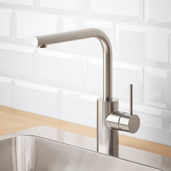 TÄMNAREN kitchen mixer tap w sensor stainless steel colour 31 cm