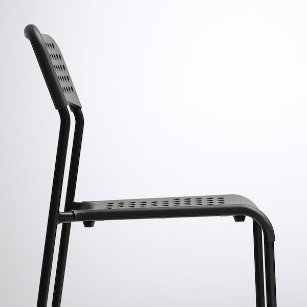 TÄRENDÖ / ADDE table and 4 chairs black/black 110 cm 67 cm 74 cm