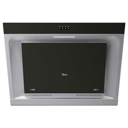 TÅLMODIG CXW-200-AJ9008-G (2017) wall mounted extractor hood stainless steel/black 55.0 cm 55.0 cm 89.6 cm 42.5 cm 1.0 m 20.00 kg