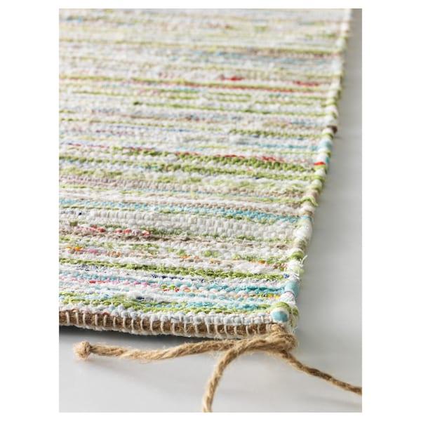 TÅNUM rug, flatwoven assorted colours 90 cm 60 cm 4 mm 0.54 m² 1350 g/m²
