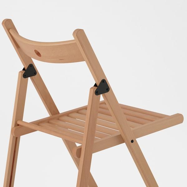 TERJE folding chair beech 100 kg 44 cm 51 cm 77 cm 38 cm 33 cm 46 cm
