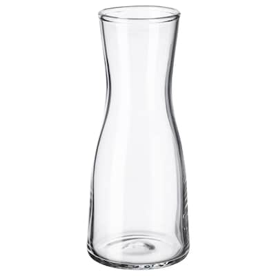 TIDVATTEN Vase, clear glass, 14 cm