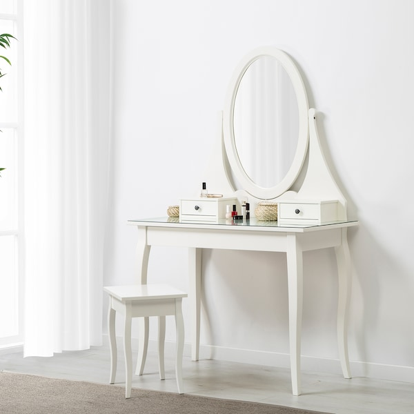 TINIUS Stool, white