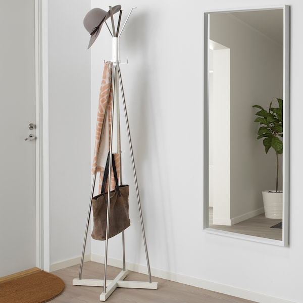 TJUSIG hat and coat stand white 60 cm 60 cm 193 cm