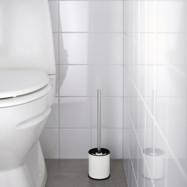 TOFTAN Toilet brush, white