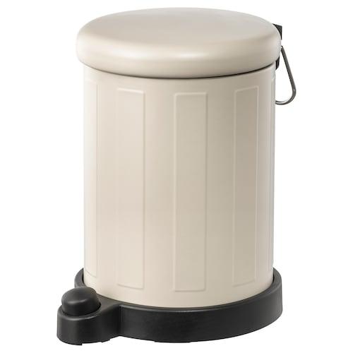 TOFTAN waste bin beige 27 cm 19 cm 4 l