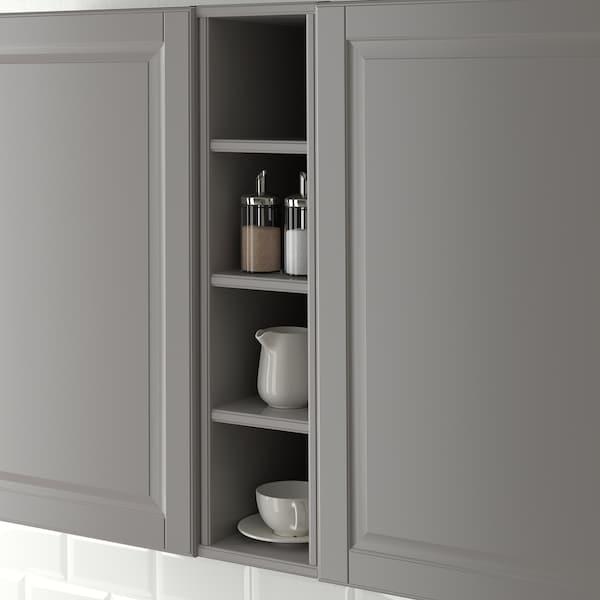 TORNVIKEN open cabinet grey 20.0 cm 37.0 cm 36.6 cm 80.0 cm