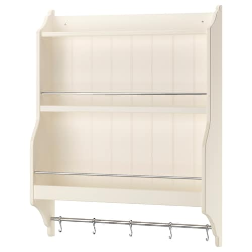 TORNVIKEN plate shelf off-white 80 cm 20 cm 100 cm