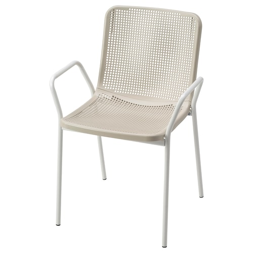IKEA TORPARÖ Chair with armrests, in/outdoor