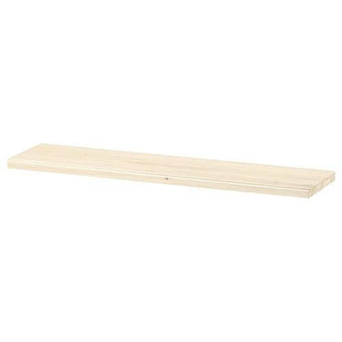 TRANHULT shelf aspen 80 cm 20 cm 2.4 cm 10 kg