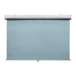 TRETUR block-out roller blind, light blue