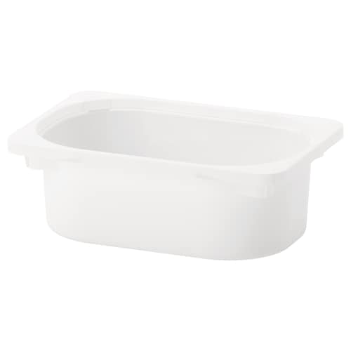 TROFAST storage box white 20 cm 30 cm 10 cm