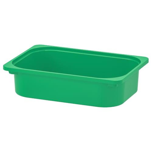 TROFAST storage box green 42 cm 30 cm 10 cm