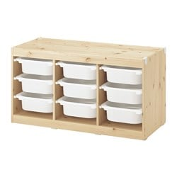TROFAST Storage combination with boxes ¥ 634.00