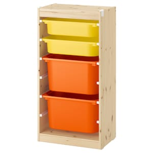 Colour: Light white stained pine orange/yellow.