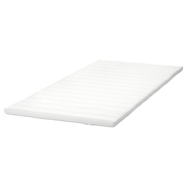TUDDAL Mattress pad, white, 90x200 cm