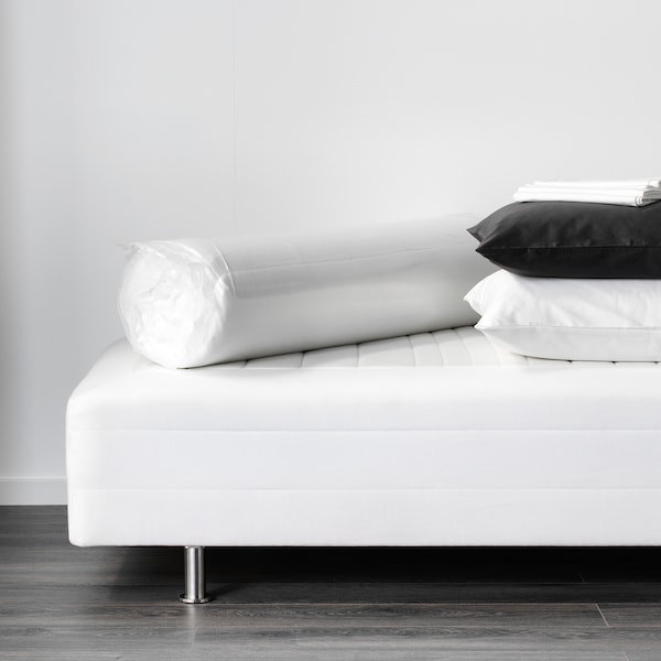 TUDDAL Mattress pad, white, 120x200 cm