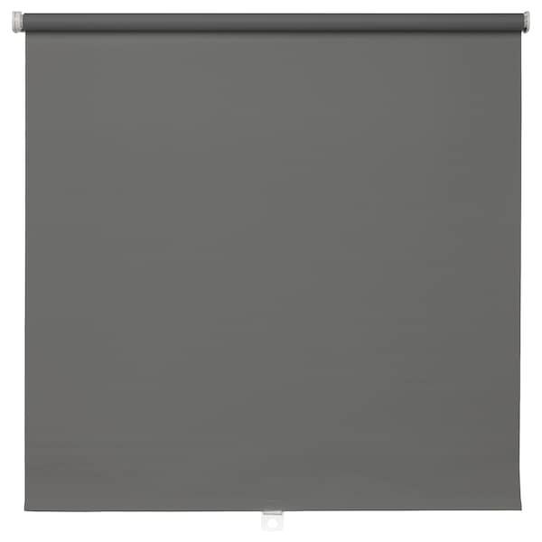 TUPPLUR block-out roller blind grey 80 cm 83 cm 195 cm 1.56 m²