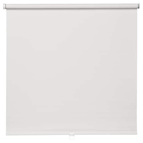 TUPPLUR Block-out roller blind, white, 100x195 cm