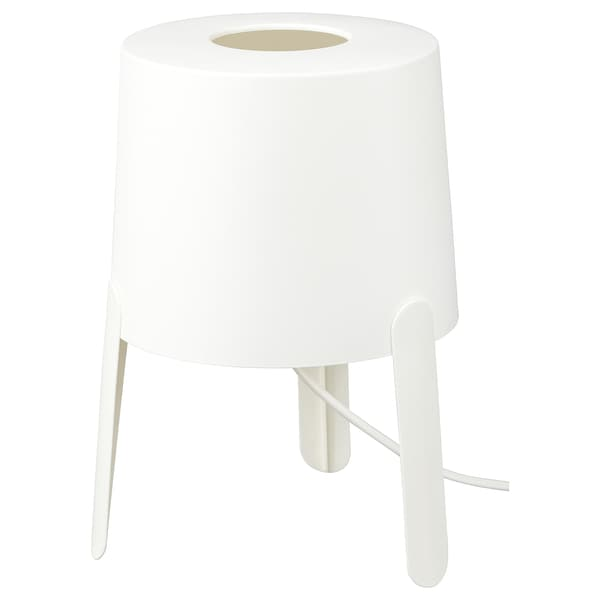 TVÄRS table lamp white 7 W 27 cm 18 cm 1.4 m