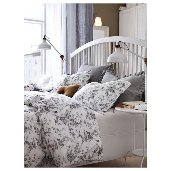 TYSSEDAL bed frame white/Luröy 210 cm 158 cm 44 cm 140 cm 20 cm 200 cm 150 cm