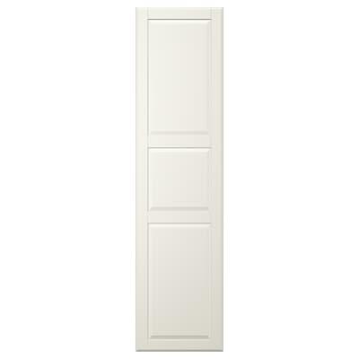 TYSSEDAL Door with hinges, white, 50x195 cm