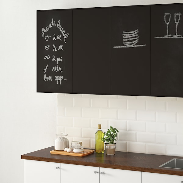 UDDEVALLA door with blackboard surface anthracite 59.7 cm 80.0 cm 60.0 cm 79.7 cm 1.6 cm