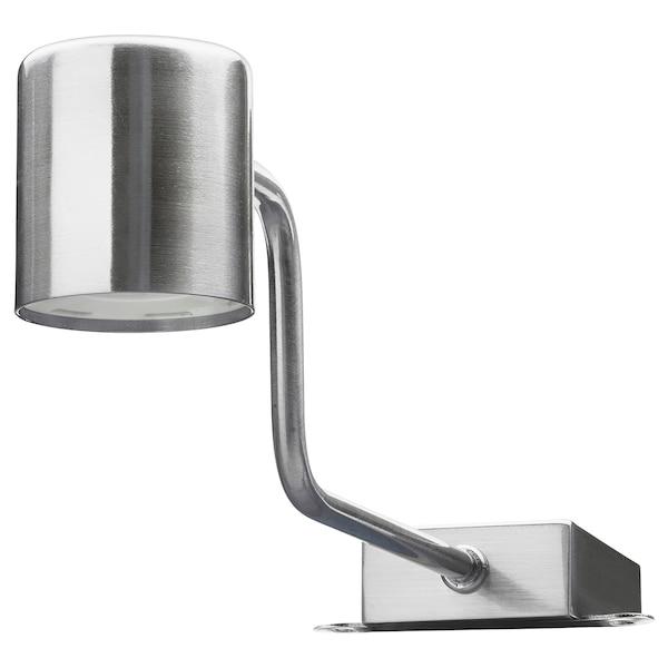 URSHULT LED cabinet lighting, nickel-plated