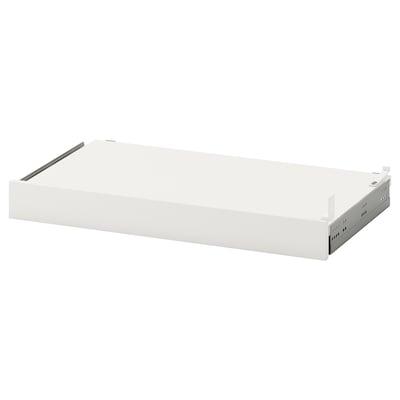 UTRUSTA Pull-out shelf, white, 60x37 cm