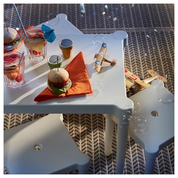 UTTER Children's stool, in/outdoor/white
