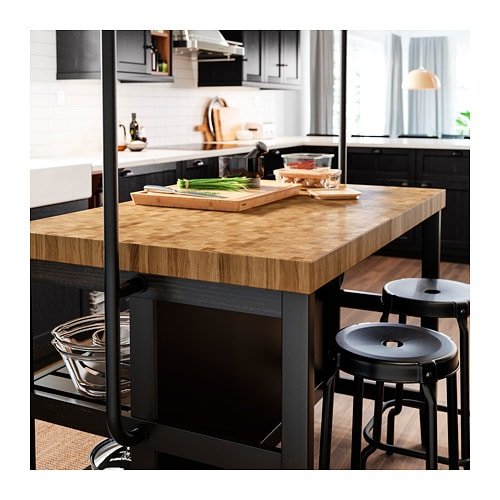 VADHOLMA Kitchen island IKEA Free-standing kitchen island; easy to place where you want it in the kitchen.