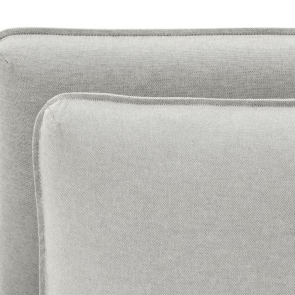 VALLENTUNA 2-seat modular sofa w 2 sofa-beds Orrsta light grey 186 cm 113 cm 84 cm 100 cm 45 cm 160 cm 200 cm
