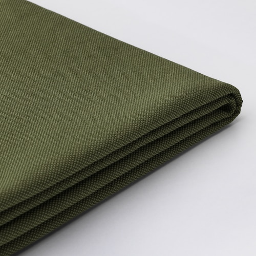 VALLENTUNA cover for backrest Orrsta olive-green 80 cm 80 cm