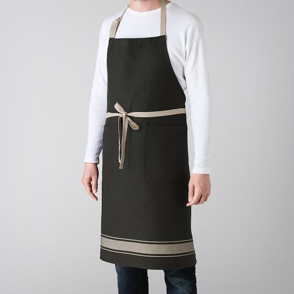 VARDAGEN apron black 92 cm