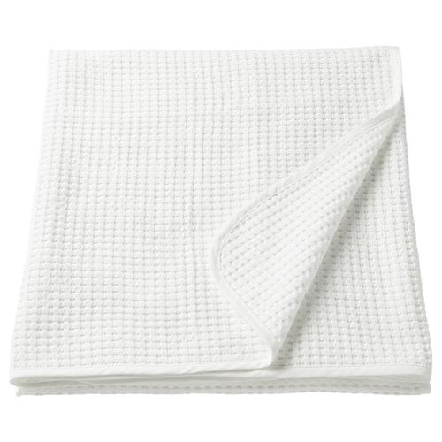 VÅRELD bedspread white 250 cm 230 cm